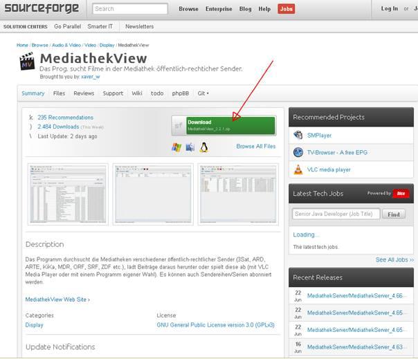 mediathek zdf download windows